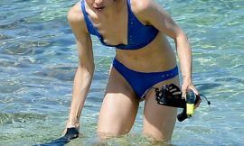 Jaime King Nipple Slip And Bikini Beach Photos