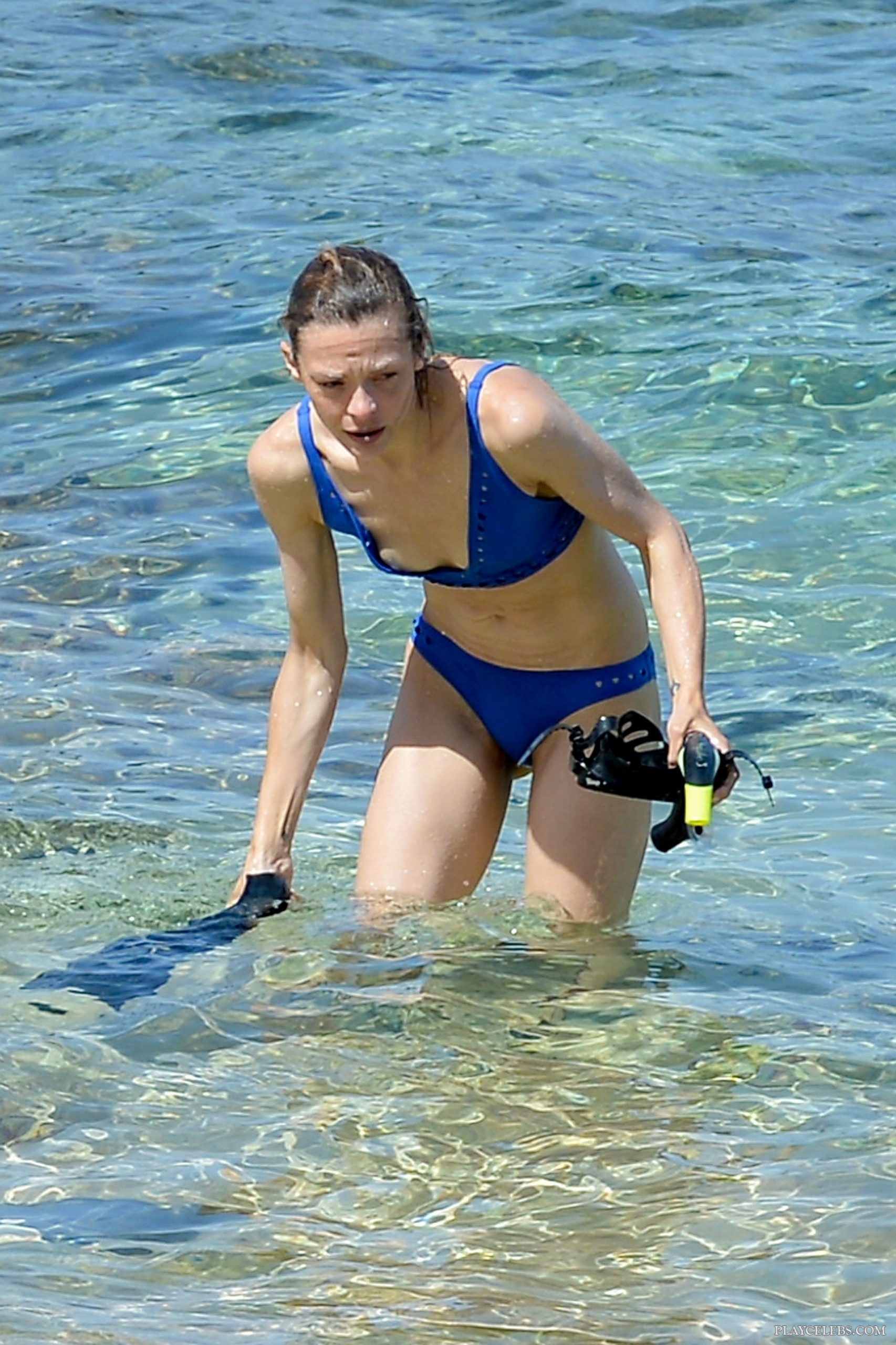 Jaime King Nipple Slip And Bikini Beach Photos