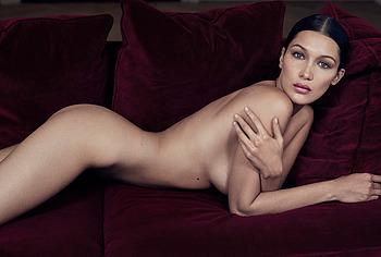 Bella Hadid nude