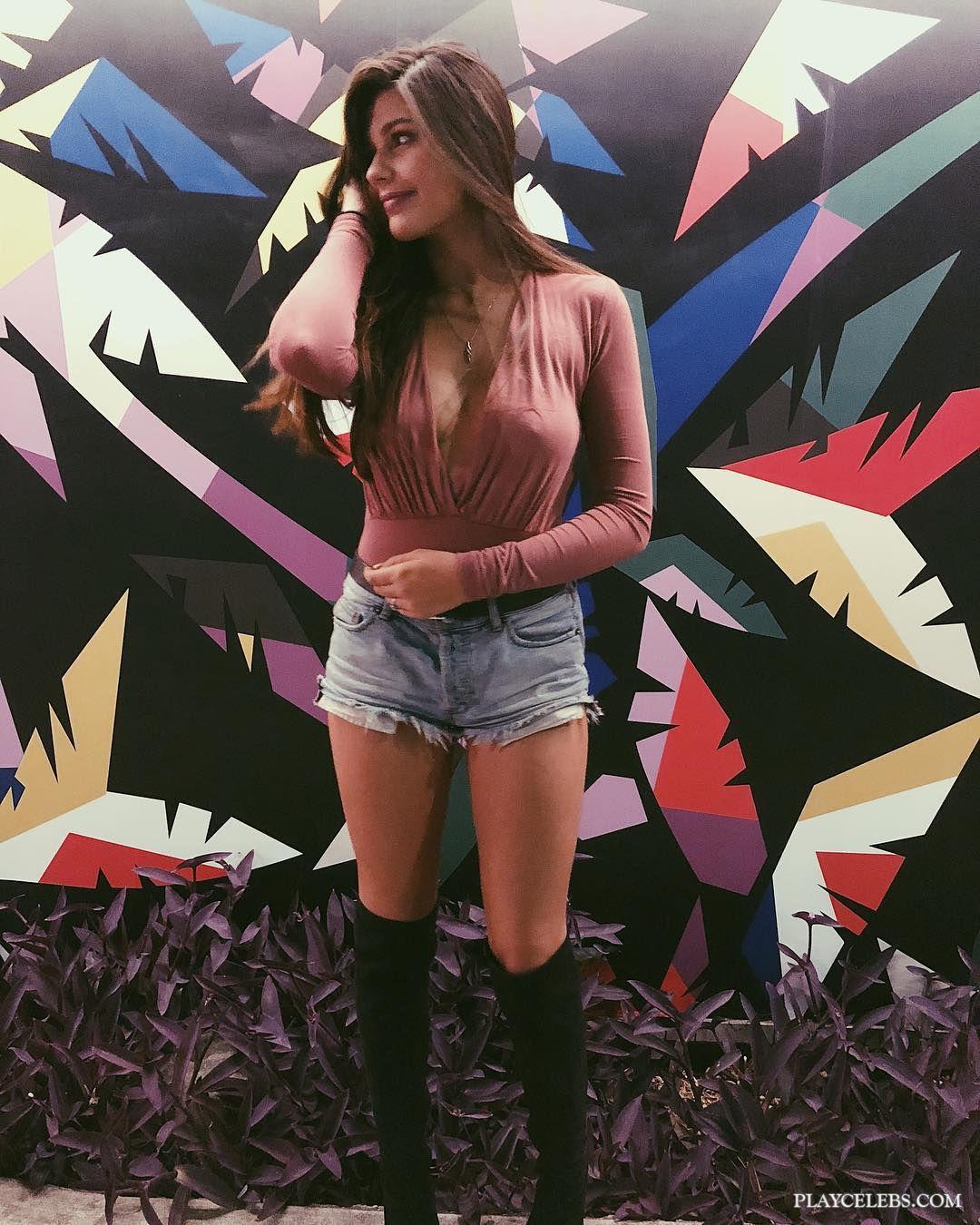 Amber Montana Various Erotic Selfie From Instagram