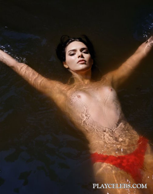 Kendall Jenner Topless And Sexy Photoshoot