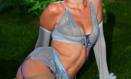Bella Hadid Sexy Lingerie At Savage x Fenty New York Fashion Week In New York City