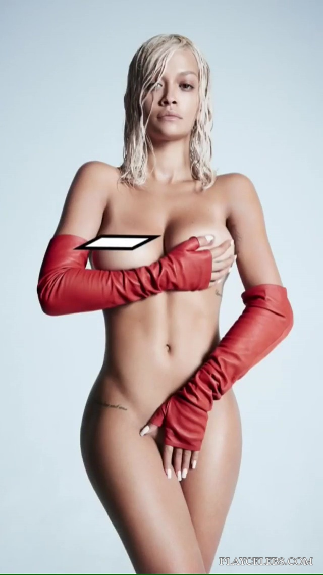 Rita Ora Naked And Sexy Photoshoot