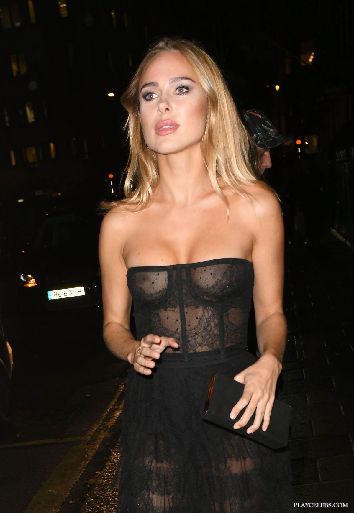 Kimberley Garner Looking Sexy In See Through