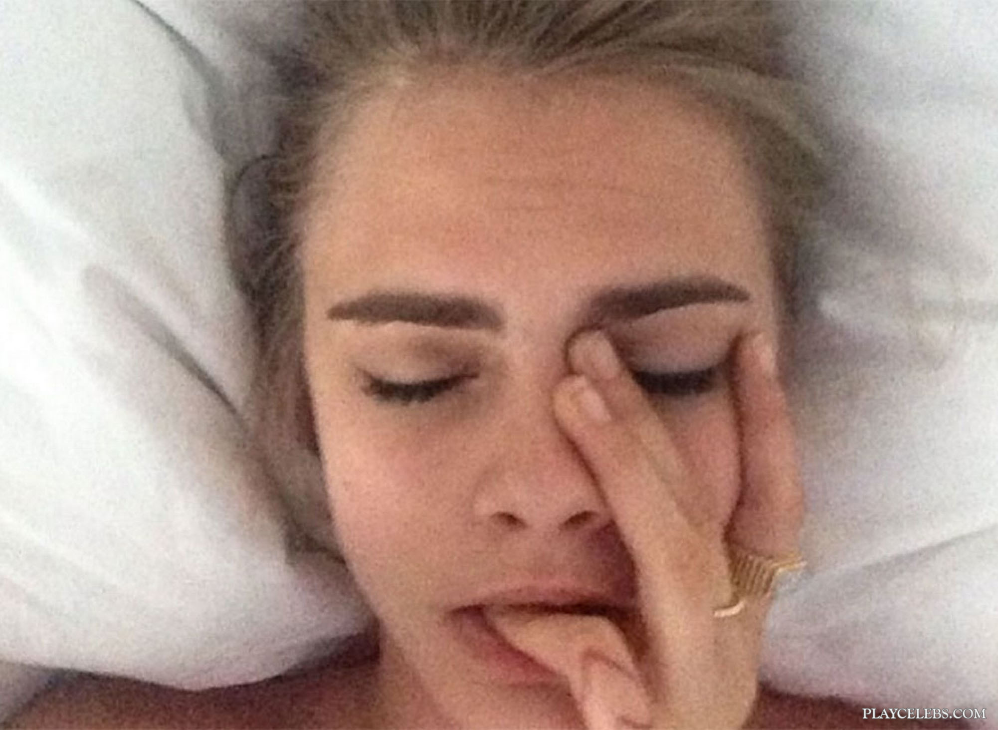 Cara Delevingne Leaked Nude Pussy Selfie Thefappening Pictures