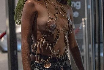 Lourdes Leon nude