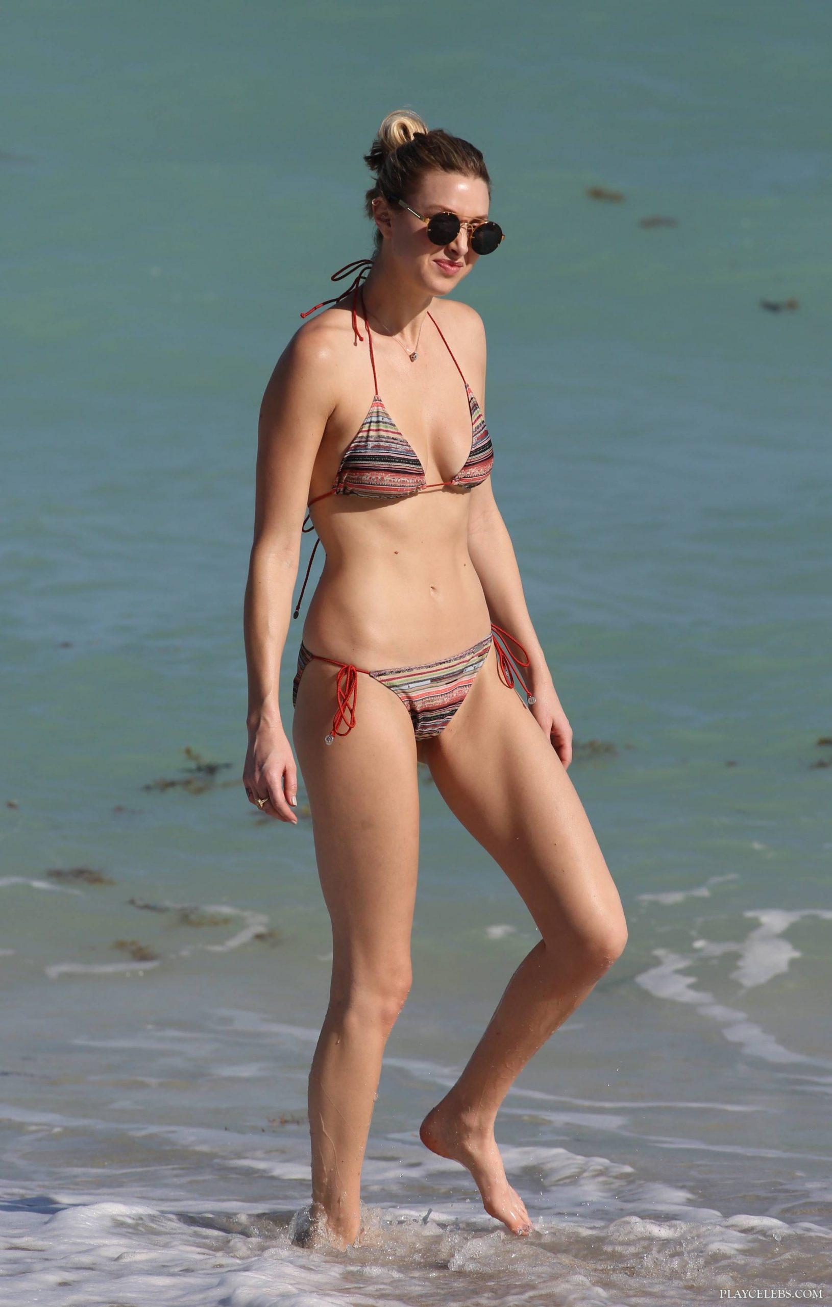 Whitney Port Sexy Bikini Beach Photos