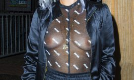 Lily Allen Showing Her Great Boobs Without Bra