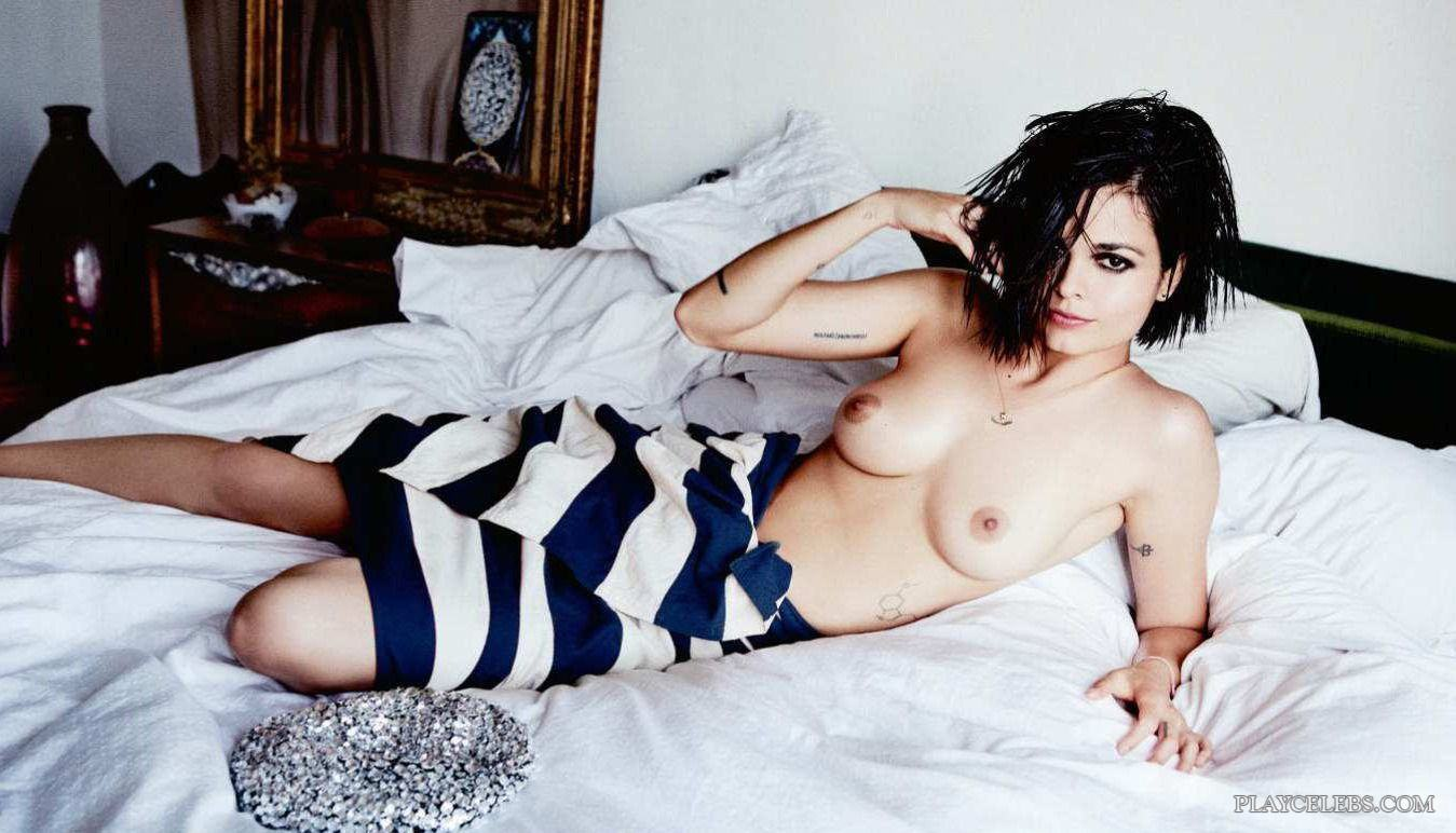 Lina Esco Nude Topless And See-Through Photoshoot