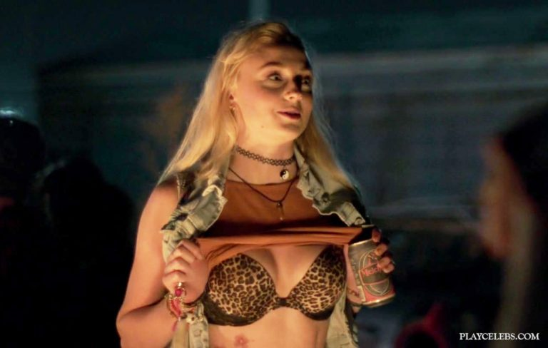 Sophie Turner Sexy Bikini And Lingerie Scenes From JOSIE (2017)