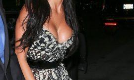 American Singer Nicole Scherzinger Cleavage & Sexy Photos