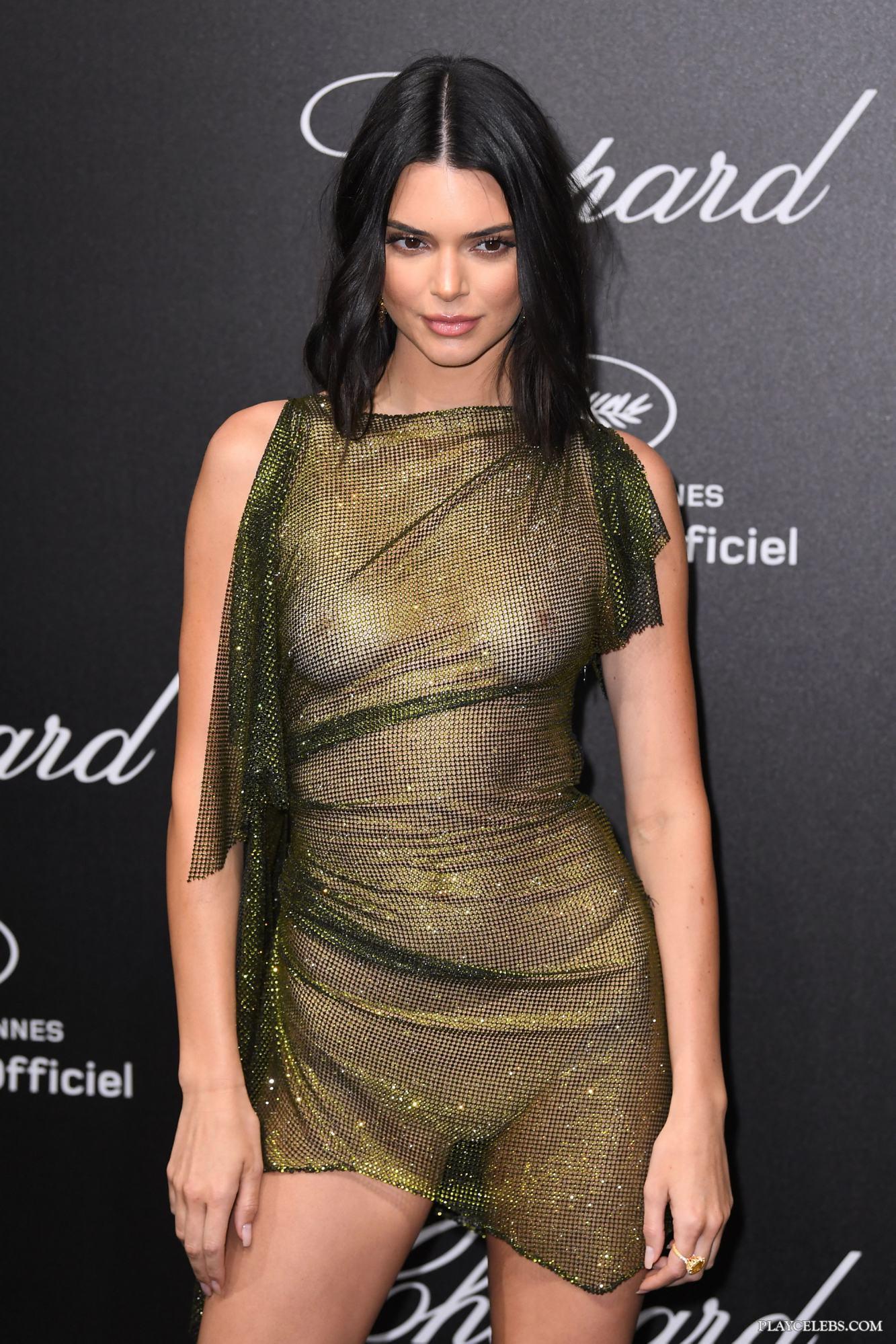 Kendall Jenner See Through & Bikini Ass Photos