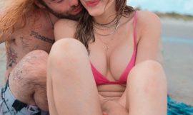 Bella Thorne Red Bikini Selfie Photos