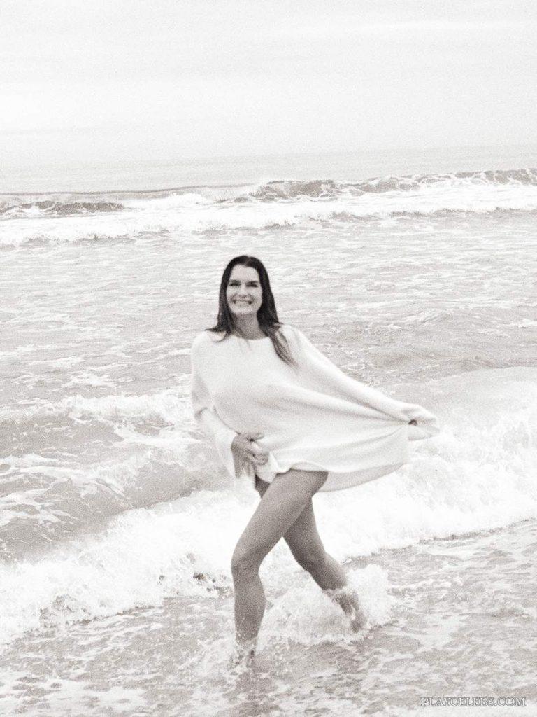 Brooke Shields Sexy Photoshoot On A Beach