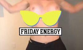 Chelsea Handler Shakes Her Nude Breasts