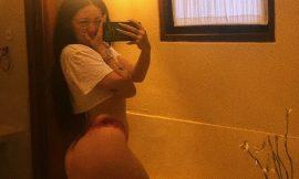 Noah Cyrus Hot Selfie In Sexy Lingerie