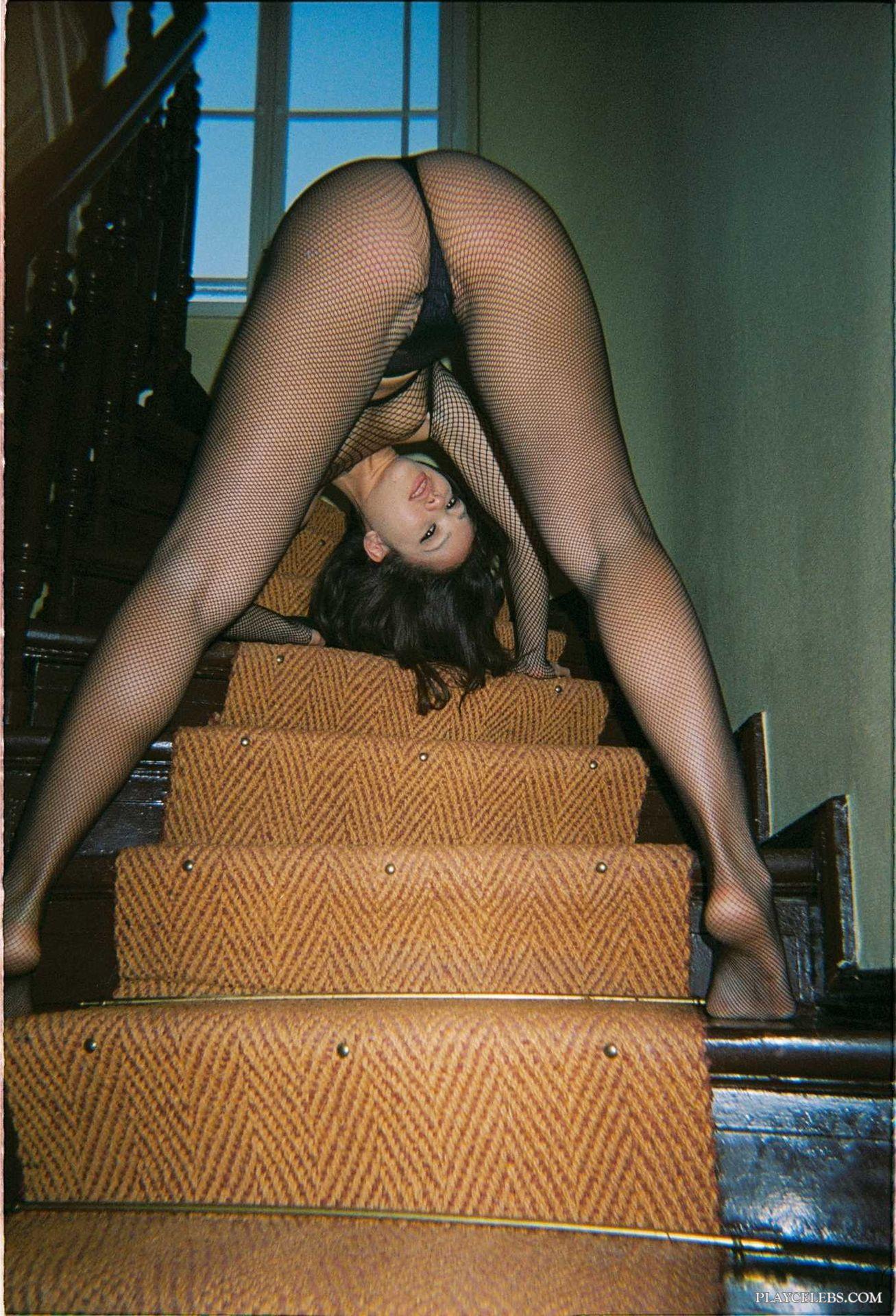Playboy Model Kitrysha Posing Nude And Sexy Lingerie