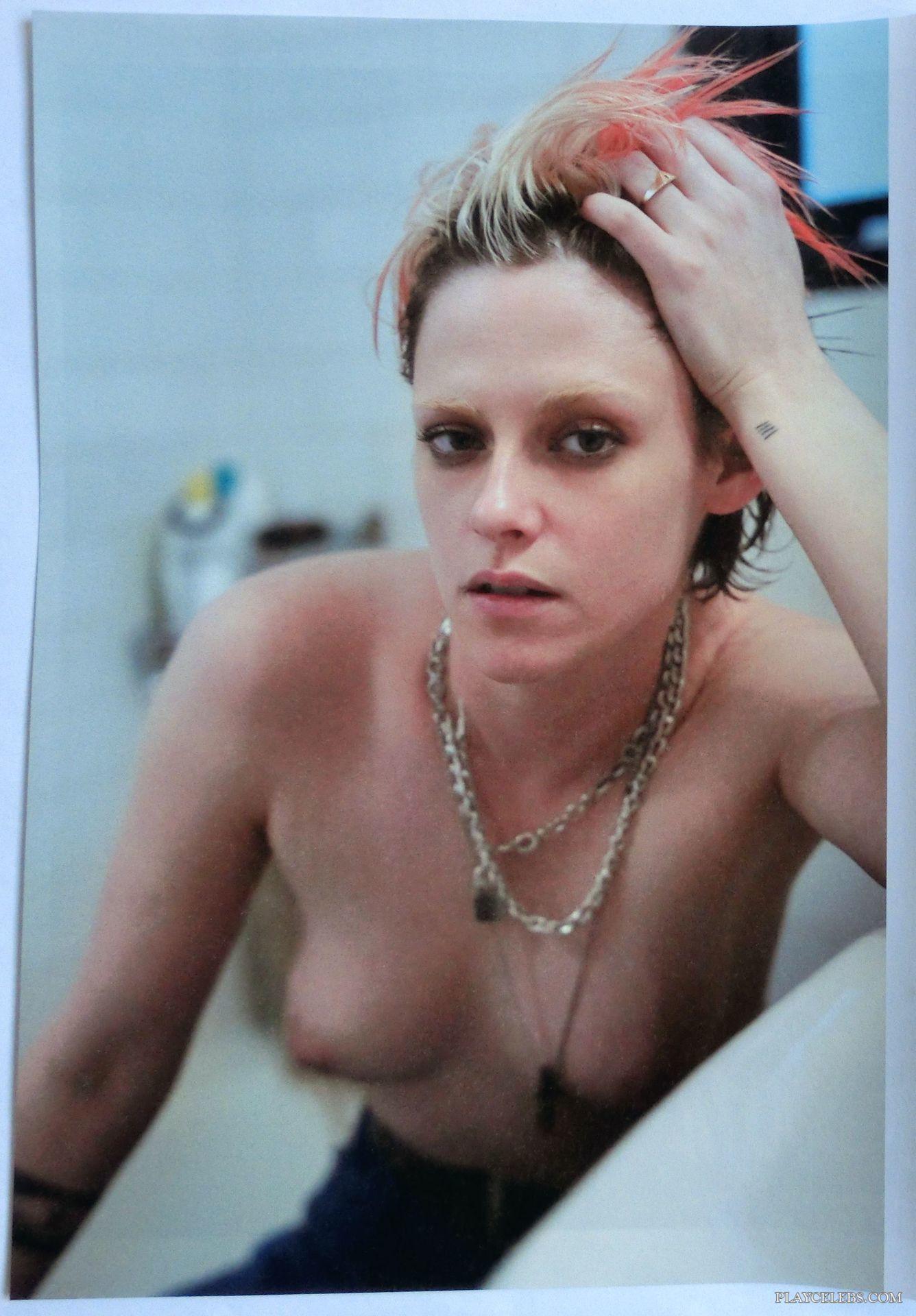 Kristen Stewart Nude And Erotic Magazine Scans