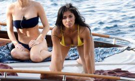 Nicole Scherzinger Shows Gorgeous Booty & Great Tits In Bikini