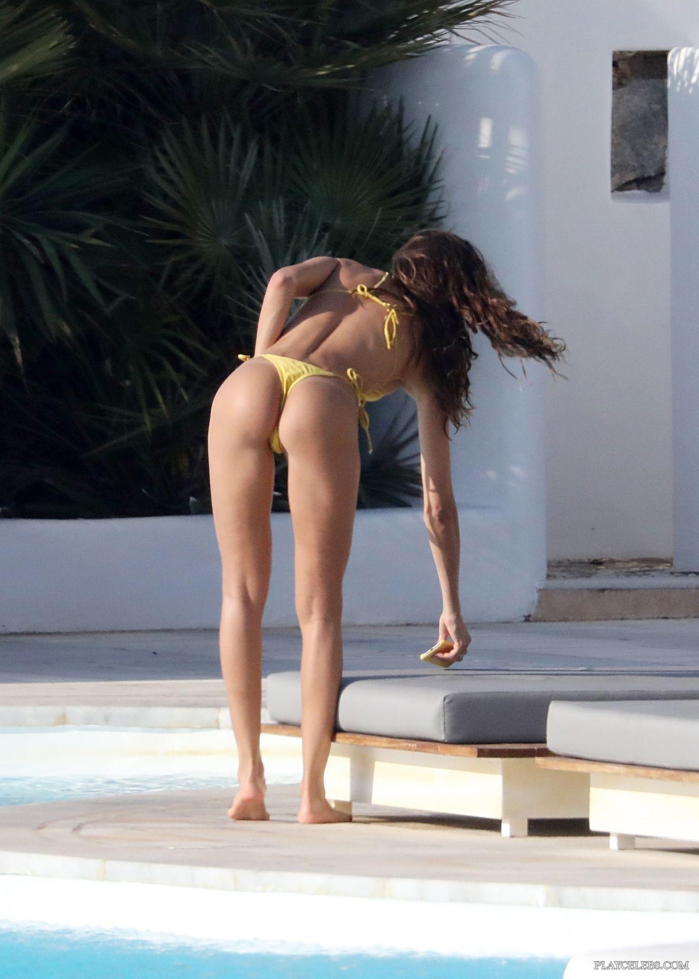 Izabel Goulart Sunbathing In Thong Bikini With Her Boyfriend