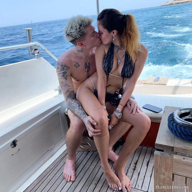 Bella Thorne Bikini Yacht Photos