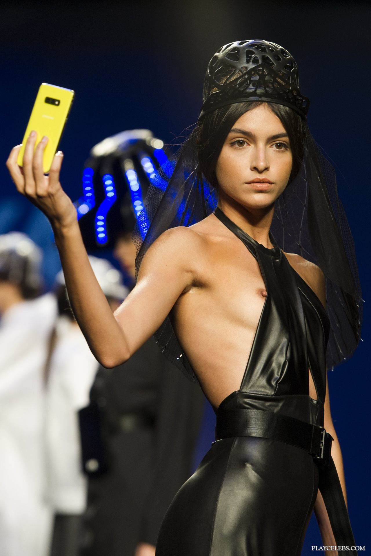 Hot Model Lucia Rivera Nipslip Oops Moment
