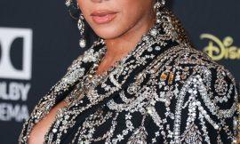 Beyonce Areola Slip Moment