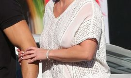 Britney Spears See Through Blouse Photos