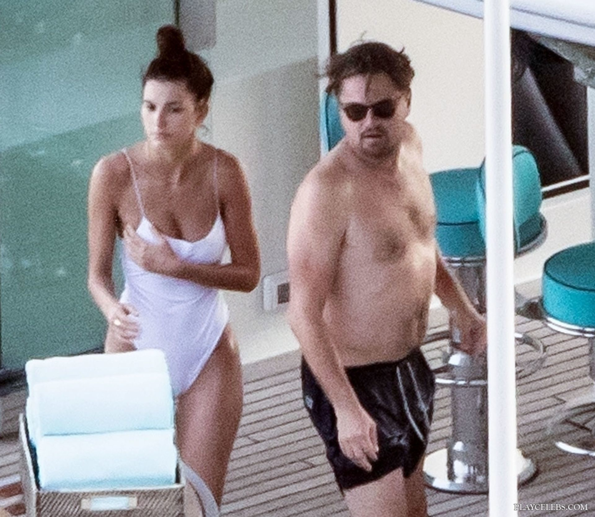 Camila Morrone Caught By Paparazzi In Bikini With Leonardo DiCaprio
