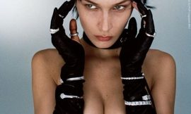 Bella Hadid Hot Topless Photoshoot