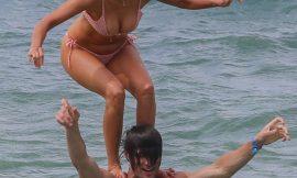 Nina Dobrev Oops And Bikini Shots