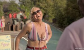 Kirsten Dunst Deep Cleavage And Sexy In On Becoming a God in Central Florida S01E01