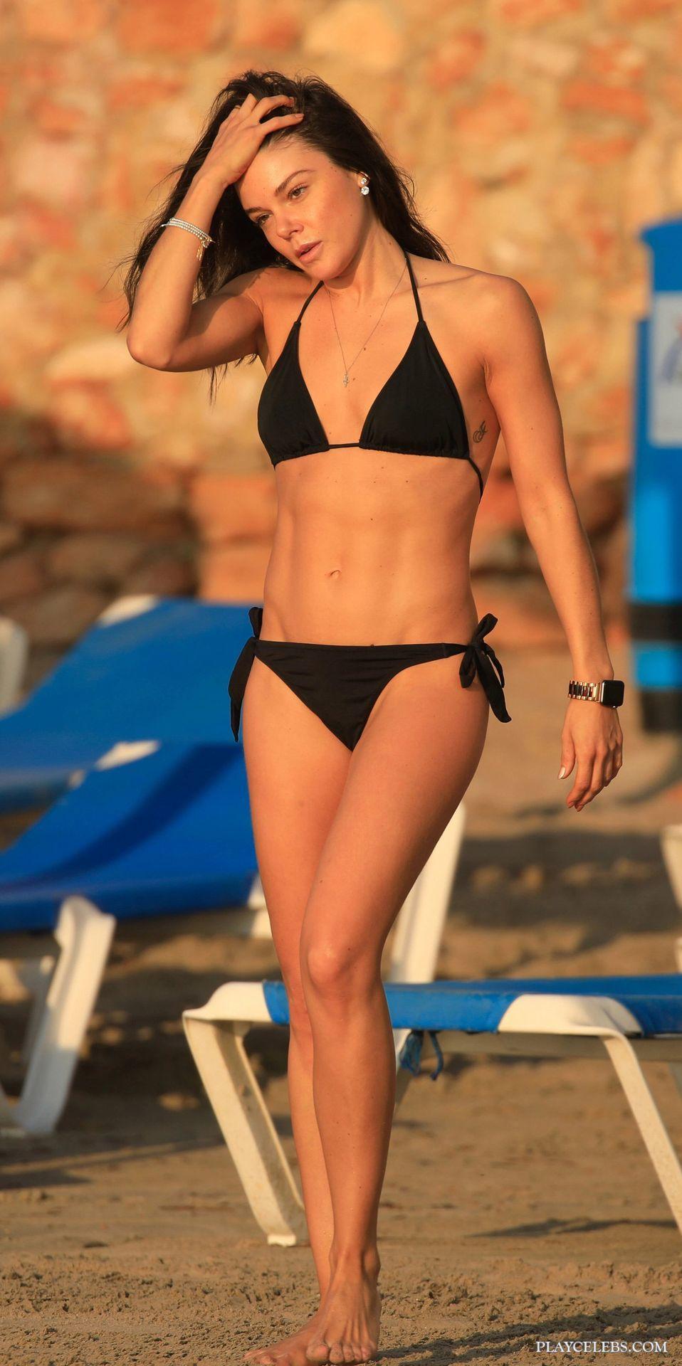 Faye Brookes NipSlip And Bikini Photos