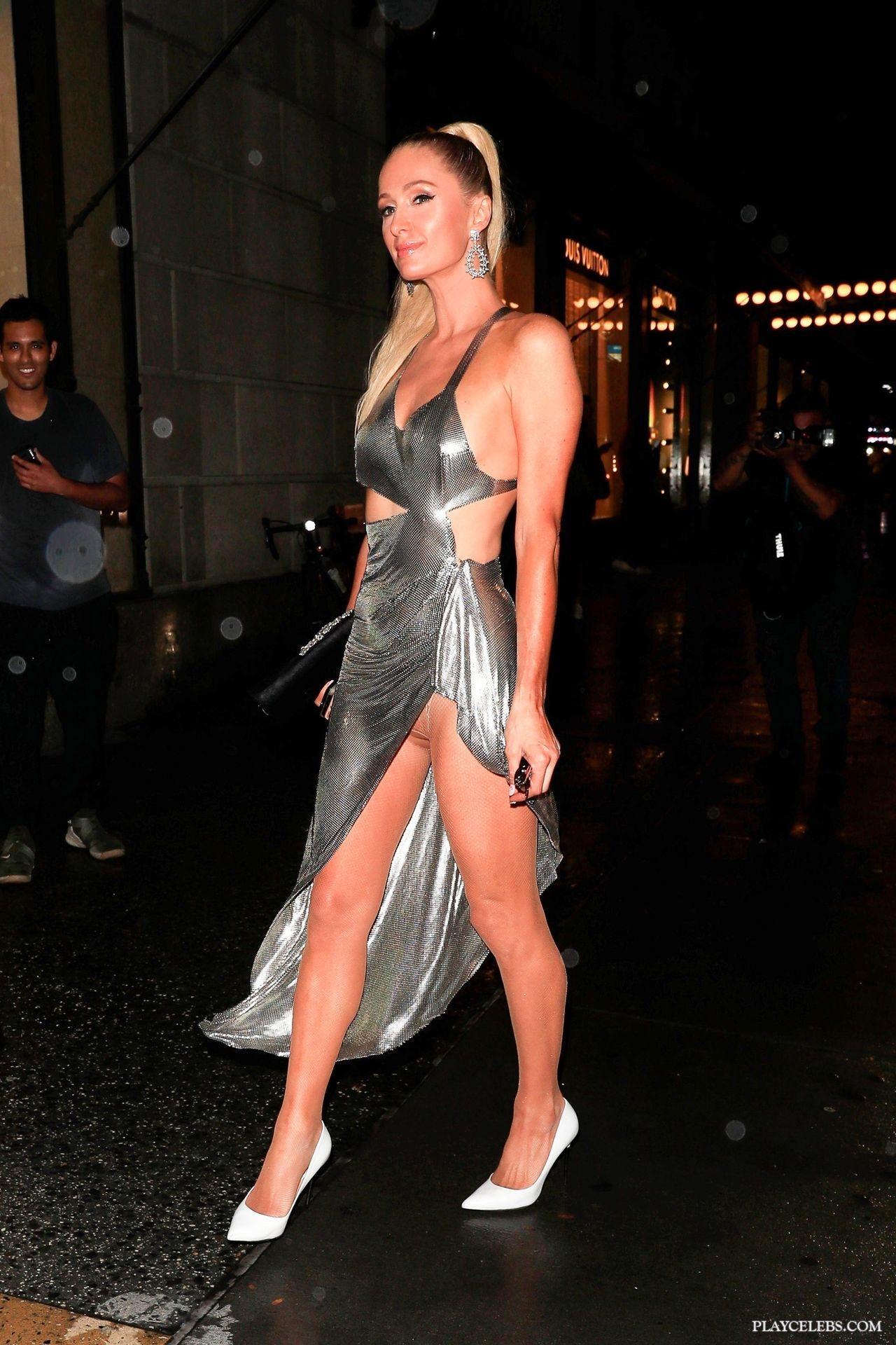Paris Hilton Paparazzi Upskirt Oops Photos