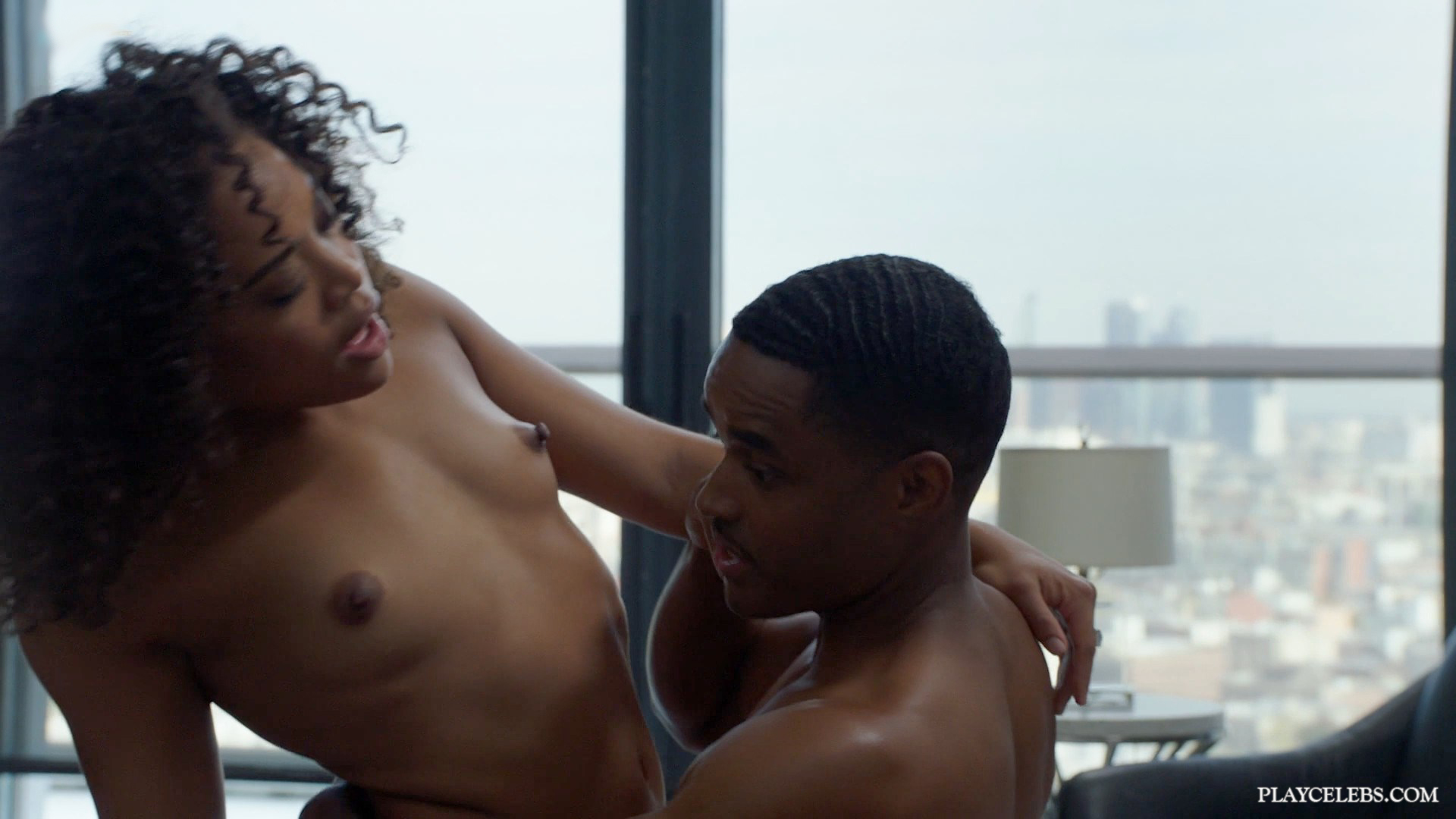 Candace Maxwell Nude And Rough Sex Action In Doggy Style From Power S06E03