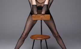 Angelina Jolie See Through And Naked For Harper's Bazaar US
