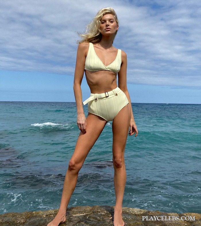 Elsa Hosk Cameltoe And Bikini Shots