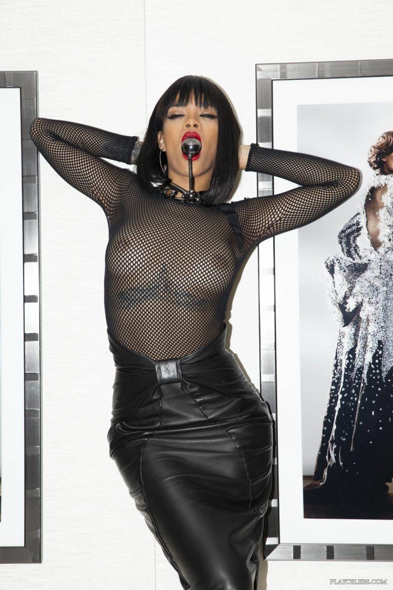 Rihanna Naked And See Through Photoshoot For Savage X Fenty, November 2019