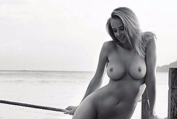 Genevieve Morton big tits