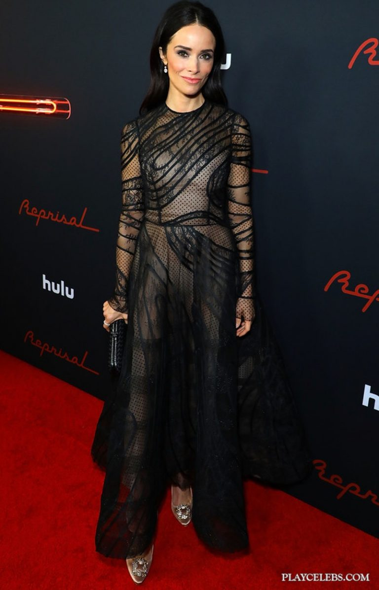 Abigail Spencer See Through Posing Photos