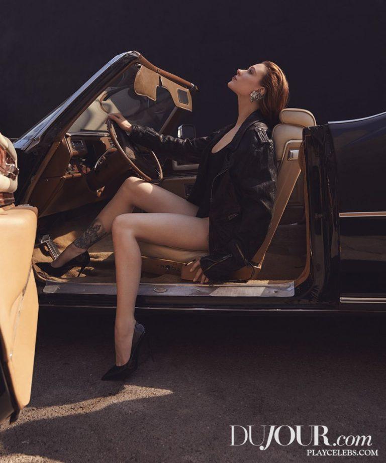 Evan Rachel Wood Posing Sexy For DuJour Magazine Winter 2019