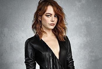 Emma Stone lingerie
