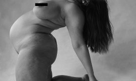 Ashley Graham Nude Black And White Photoshoot