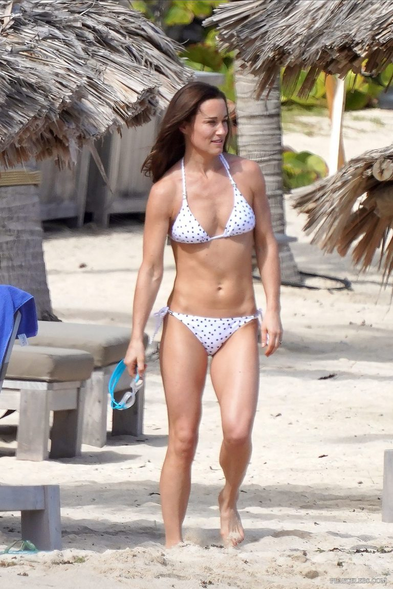 Pippa Middleton Bikini Beach Photos