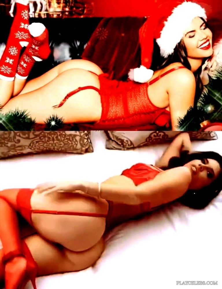 Chanel West Coast Lingerie Christmas Striptease Video