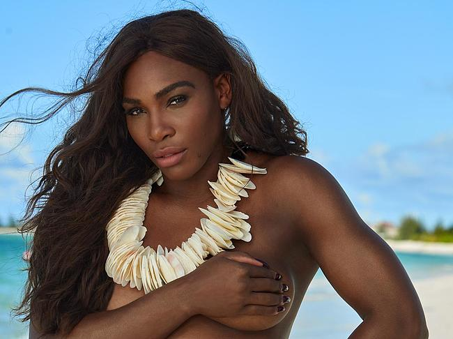 serena williams topless