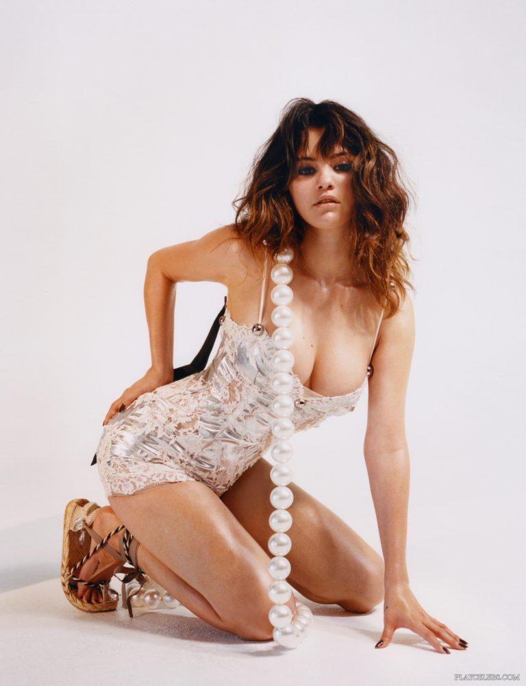 Selena Gomez See Through And Sexy In Dazed Magazine 2020