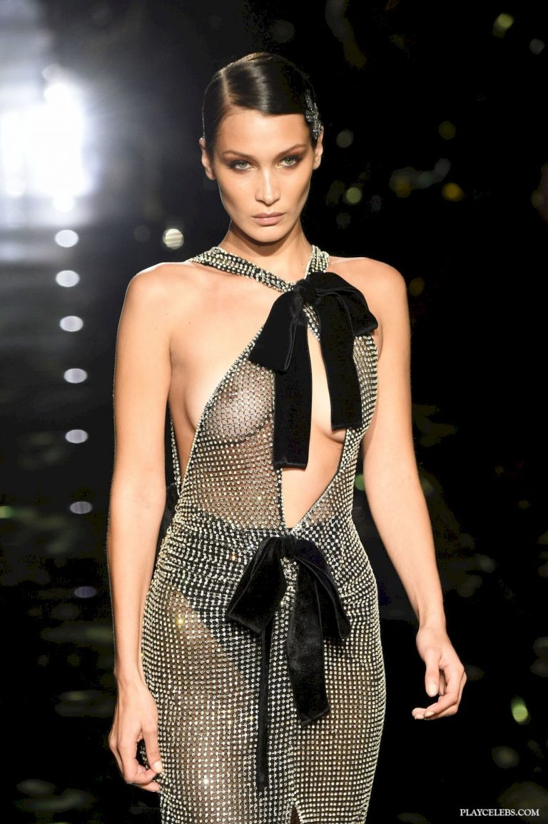 Bella Hadid See Through Stage Photos