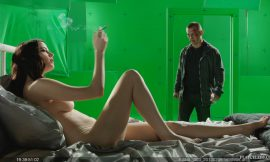Eva Green Naked in Sin City A Dame to Kill For BTS