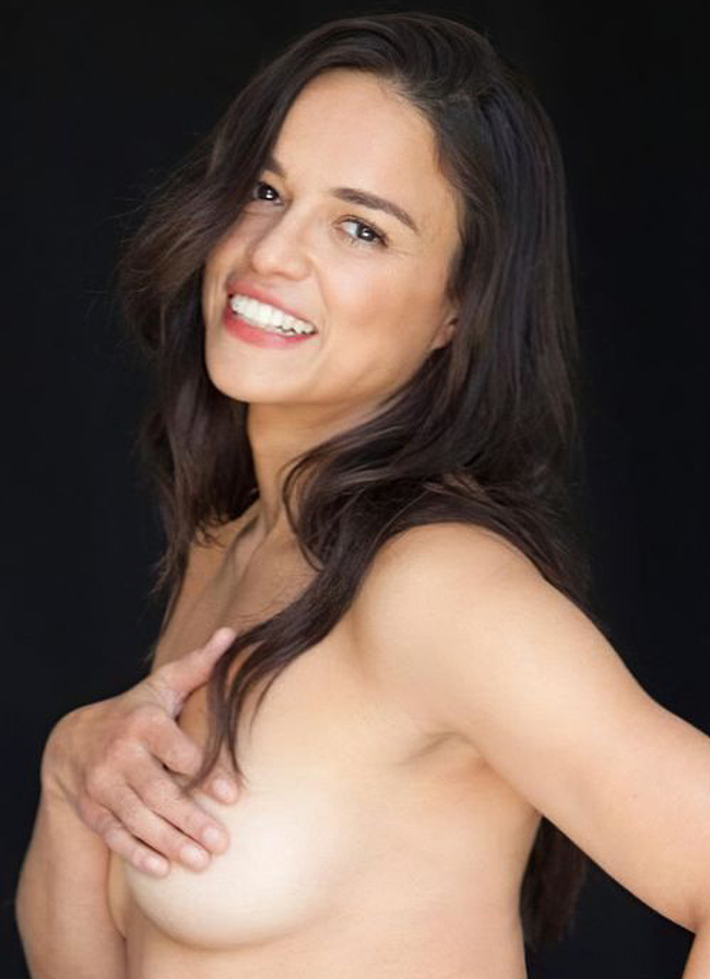 michelle rodriguez topless